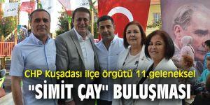 CHP Kuşadası ilçe örgütü 11. geleneksel ''Simit Çay'' buluşması