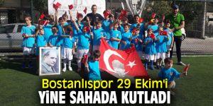 Bostanlıspor 29 Ekim Cumhuriyet Bayramı'nı kutladı