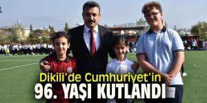 Dikili'de Cumhuriyet Bayramı coşkusu