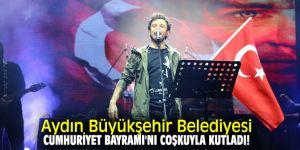 Aydın'da Cumhuriyet Bayramı coşkuyla kutlandı!
