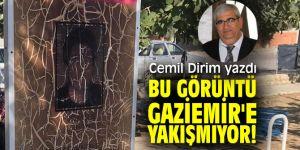 """""""Bu görüntü Gaziemir'e yakışmıyor!"""" Cemil Dirim yazdı!"""