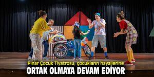Pınar Çocuk Tiyatrosu, İzmirli çocuklarla buluşmaya devam ediyor!