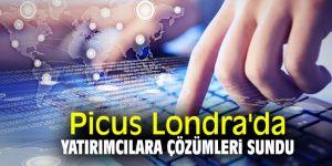 Picus Londra'da yatırımcılara çözümleri sundu