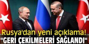 """Rusya'dan yeni açıklama! """"Geri Çekilmeleri Sağlandı"""""""