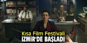 Kısa Film Festivali İzmir'de başladı