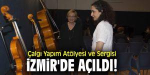 Çalgı Yapım Atölyesi ve Sergisi, İzmir'de açıldı!