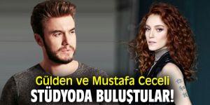 Gülden ve Mustafa Ceceli stüdyoda buluştular!
