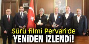 Sürü filmi Pervari'de yeniden izlendi!