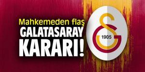 14. Asliye Hukuk Mahkemesi'nden flaş Galatasaray kararı!