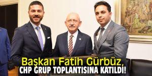 Başkan Gürbüz, Kılıçdaroğlu'nu ziyaret etti!