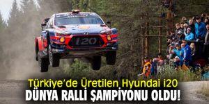 Hyundai i20 Dünya Ralli Şampiyonu Oldu!