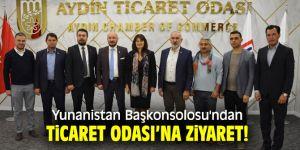 Yunanistan Başkonsolosu'ndan Ticaret Odası'na ziyaret!