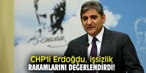 CHP'li Erdoğdu, işsizlik rakamlarını değerlendirdi!