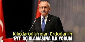 Kılıçdaroğlu'ndan flaş EYT açıklaması