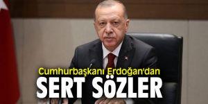 """Cumhurbaşkanı Erdoğan, """"Biz asla ama asla bu insanları varil bombalarına teslim edemeyiz"""""""