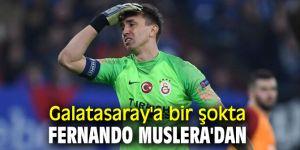 Galatasaray'a bir şokta Fernando Muslera'dan