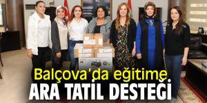 Balçova Belediyesi'nden okullara destek