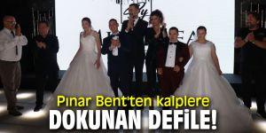 Pınar Bent'ten anlamlı defile