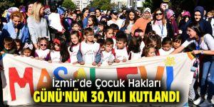 İzmir'de Çocuk Hakları Günü'nün 30. yılı kutlandı