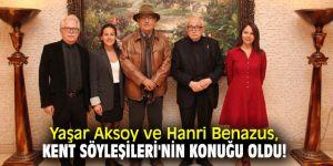 Yaşar Aksoy ve Hanri Benazus, Kent Söyleşileri'nin konuğu oldu!