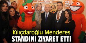 CHP lideri Kılıçdaroğlu'ndan Menderes'e ziyaret!
