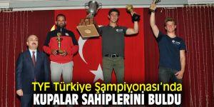 Türkiye Yelken Federasyonu Türkiye Şampiyonası'nda kupalar sahiplerini buldu