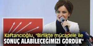 CHP'li Kaftancıoğlu, açıklamalarda bulundu