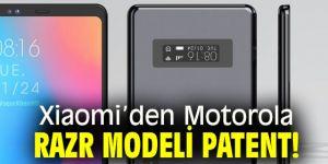 Xiaomi'den Motorola Razr modeli patent!