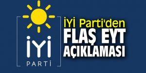 İYİ Parti'den flaş EYT açıklaması