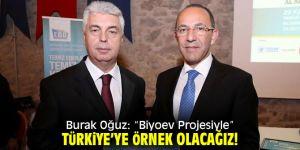 """Burak Oğuz: """"Biyoev Projesiyle"""" Türkiye'ye örnek olacağız!"""