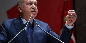"""Erdoğan: """"Bir damla petrol huzur getirmez"""""""