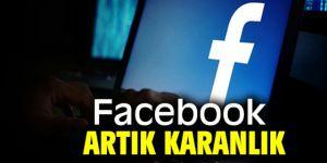Facebook'a karanlık moda geldi