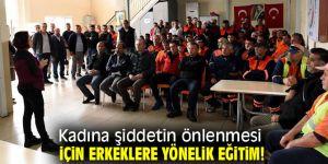 Muratpaşa Belediyesi'nden kadına şiddetin önlenmesi için erkeklere yönelik eğitim!