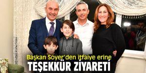 Başkan Soyer, Mehmet Çağlar'ı evinde ziyaret etti