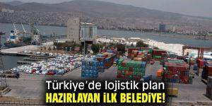 İzmir Büyükşehir Belediyesi'nden ilk lojistik plan