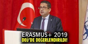 DEÜ'de ERASMUS+ 2019 toplantısı!