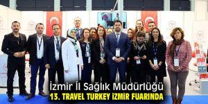 İzmir İl Sağlık Müdürlüğü 13. Travel Turkey İzmir'de!