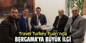 Travel Turkey'de Bergama Belediyesi'nin standına yoğun ilgi