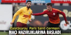 Galatasaray'da Paris Saint-Germain maçı çalışmaları sürüyor