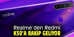 Realme, Redmi K30'a rakip mi olacak?