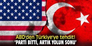 ABD'den flaş Türkiye'ye tehdit!