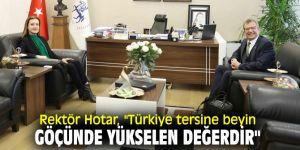 Rektör Hotar'dan beyin göçü açıklaması!