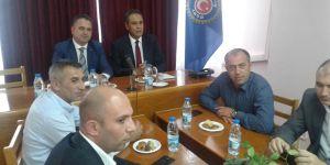 Av. Özcan'dan Türk-İş'e ziyaret