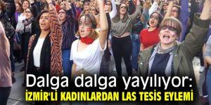 İzmir'li kadınlardan Las Tesis eylemi!