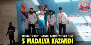 Bostanlıspor'a Muaythai'de 3 Madalya!