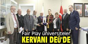 """DEÜ'de """"Fair Play Üniversiteler Kervanı"""""""