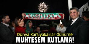 Karşıya'da yer gök yeşil kırmızıya boyandı!