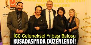 İGC Geleneksel Yılbaşı Balosu Kuşadası'nda düzenlendi!