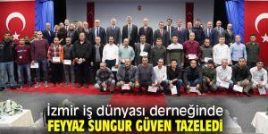 İZİD'e Feyyaz Sungur yeniden başkan