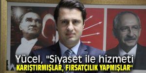 CHP İl Başkanı Yücel'den, Kerem Ali Sürekli'ye sert yanıt!